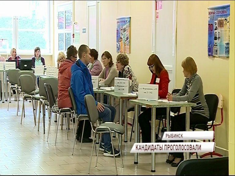 Кандидаты в губернаторы приняли участие в выборах