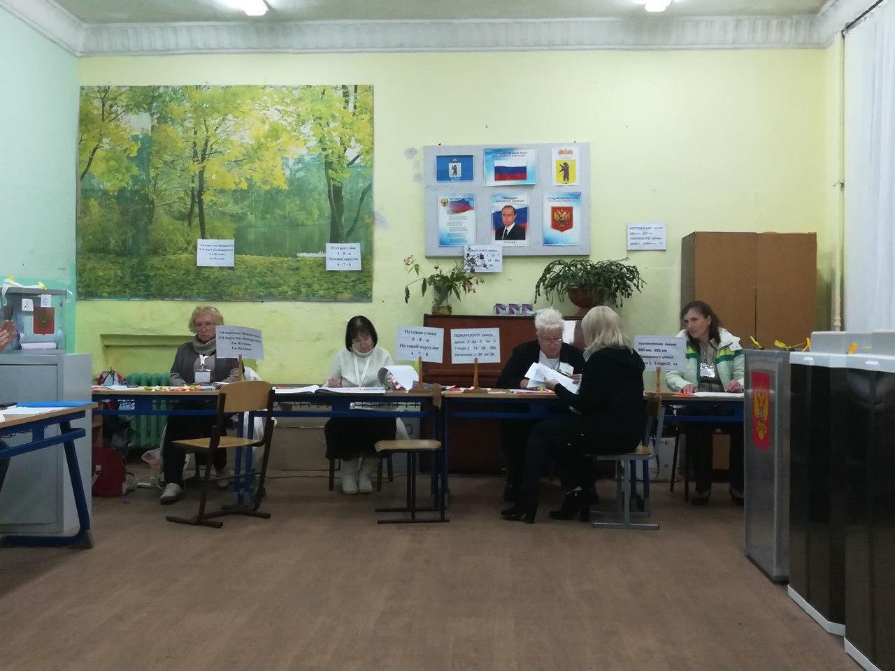 В Ярославской области закрылись избирательные участки, начался подсчет голосов
