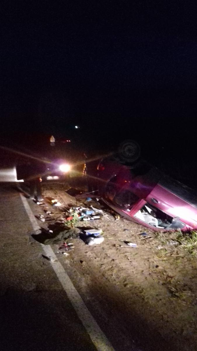 В Ярославкой области пьяный водитель на иномарке вылетел в кювет