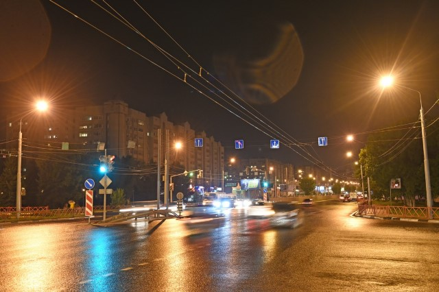 В Ярославле фонари проверяют два раза в неделю