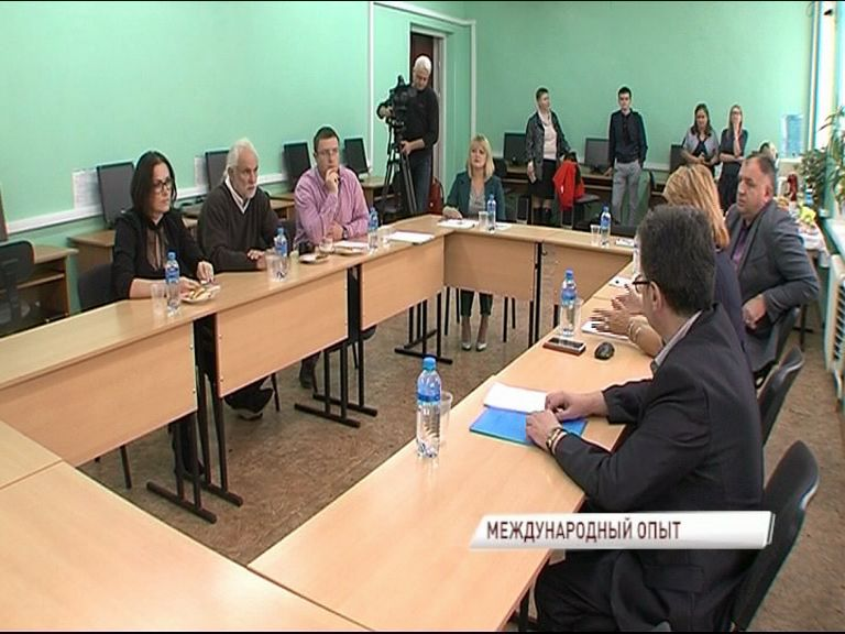 Преподаватель немецкой технической школы приехал в Ярославль, чтобы познакомиться с особенностями российского образования