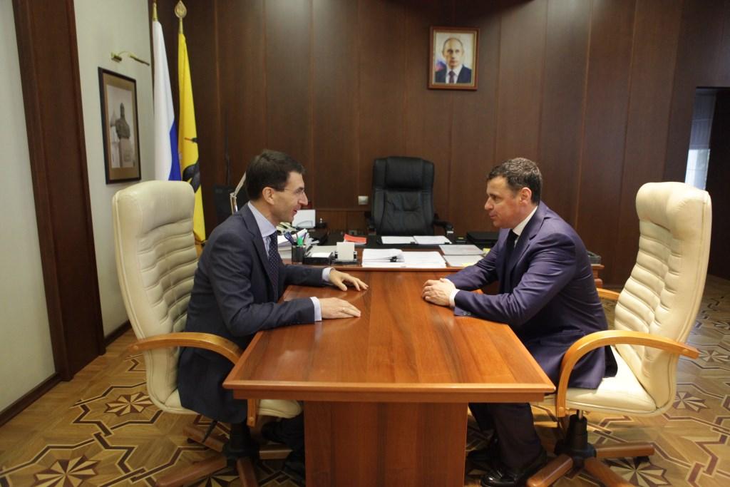 Дмитрий Миронов встретился с помощником президента России Игорем Щеголевым