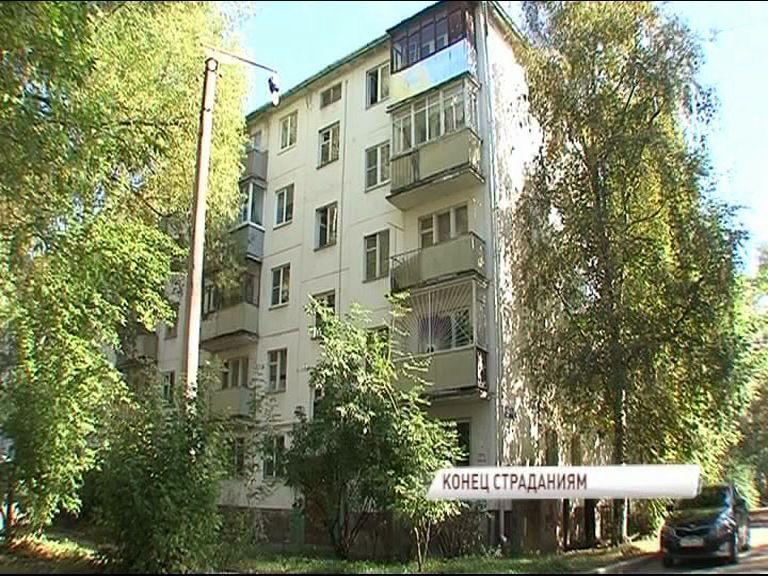 Жители дома на улице Блюхера получили долгожданный капремонт