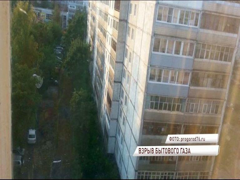 В Рыбинске произошел взрыв бытового газа в квартире жилого дома