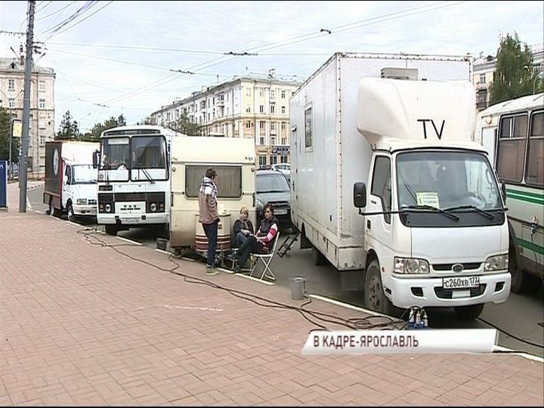 В столице «Золотого кольца» снимают остросюжетный сериал