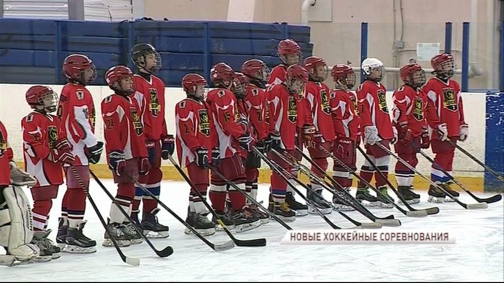 В Ярославле стартовало открытое первенство области по хоккею среди юношей