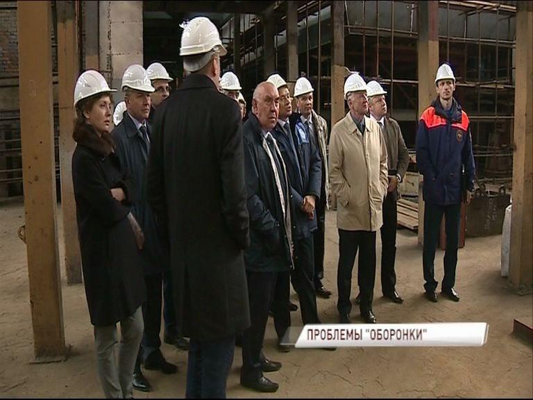 Группа экспертов-антимонопольщиков приехала из Москвы на судостроительный завод