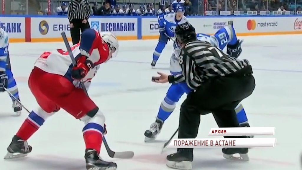 «Локомотив» крупно уступил «Барысу»