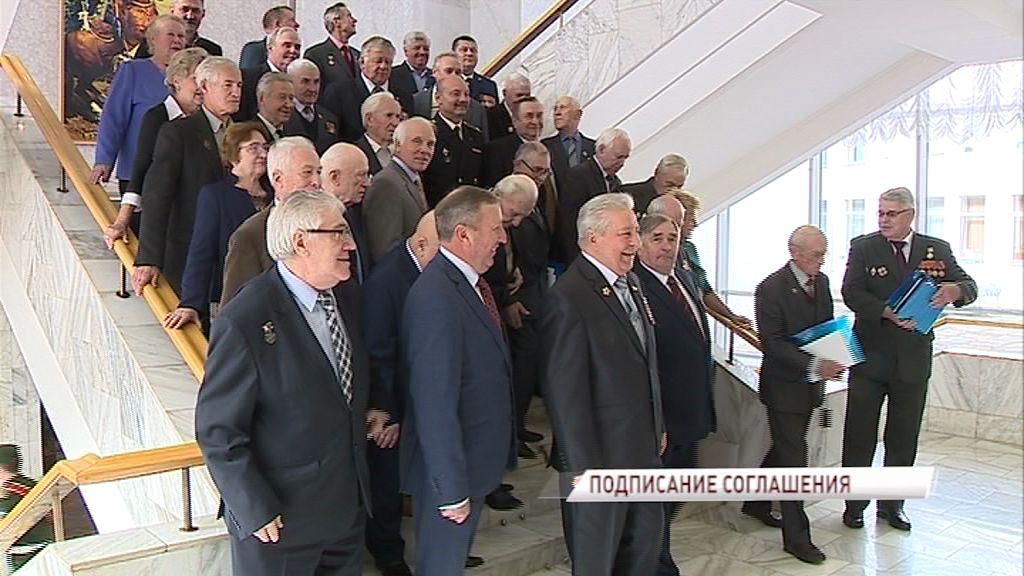 Дмитрий Миронов подписал соглашение о взаимодействии с региональным Союзом ветеранов