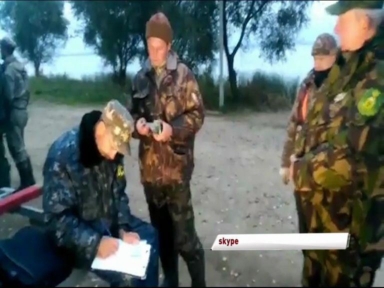 В Ростовском районе прошел рейд по отлову браконьеров.