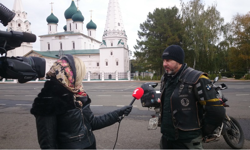 Для колонны байкеров, в честь закрытия мотосезона, освободят Московский проспект