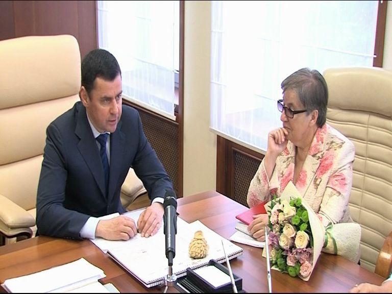Пенсионерка, ведущая свой личный блог, встретилась с губернатором Ярославской области