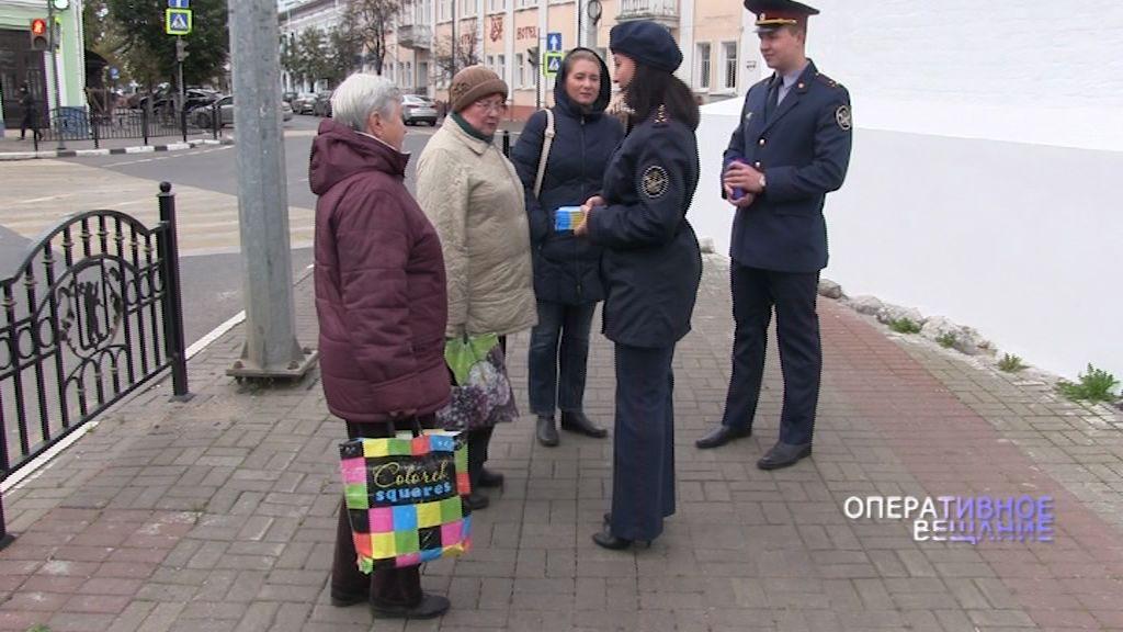 Сотрудники управления исполнения наказания поздравили пожилых людей
