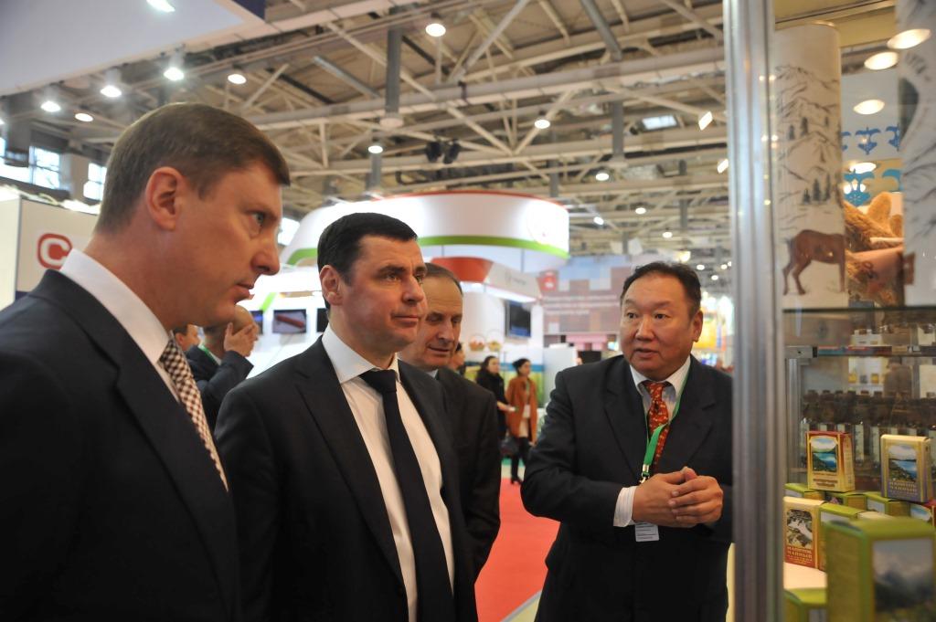 В Москве на ВДНХ проходит выставка «Золотая осень»