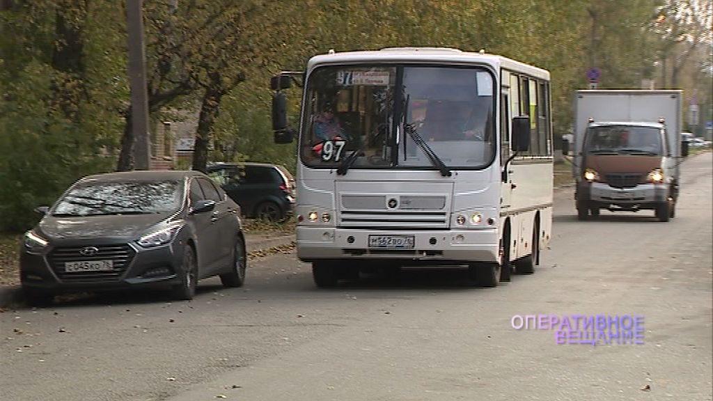 В Ярославле выявляли водителей маршруток, которые нарушают единые правила