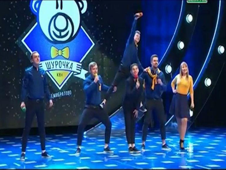 «Шурочка» из Семибратово вышла в финал телевизионной Международной лиги КВН в Минске