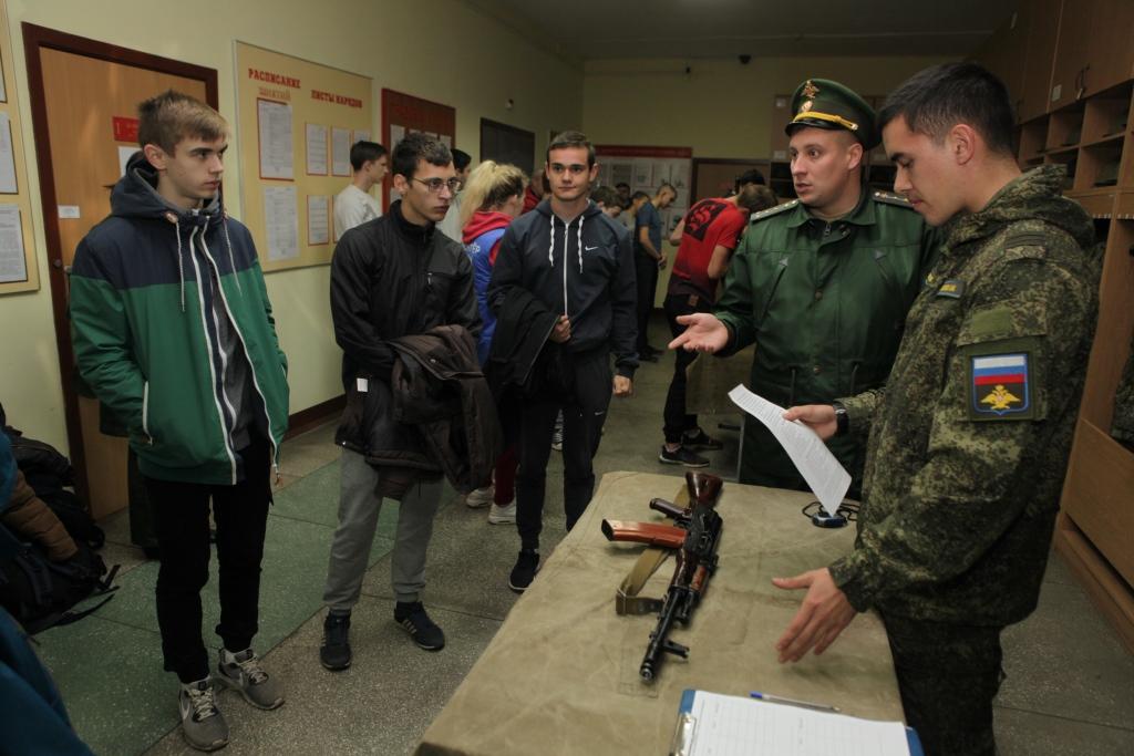 В Ярославле проходит областная спартакиада «Призывник России»