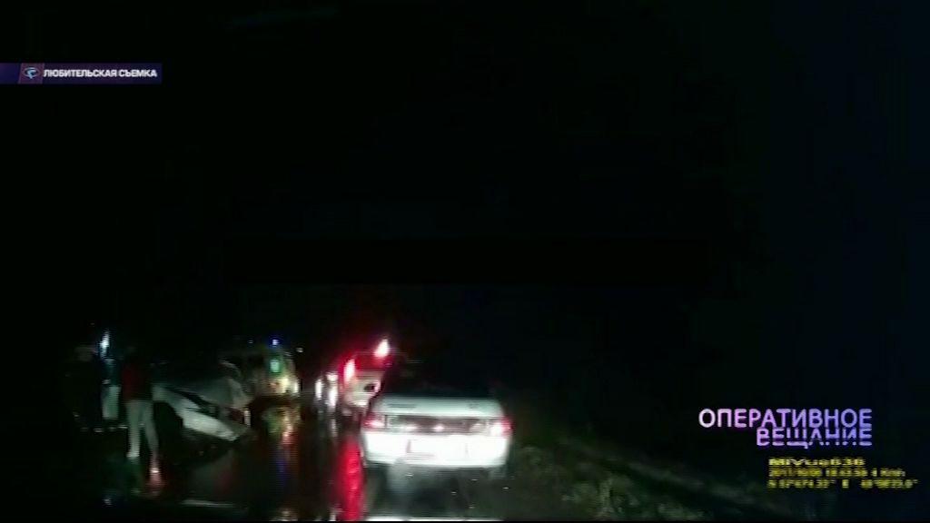 «Форд» и «Тойота» столкнулись у села Спас-Виталий