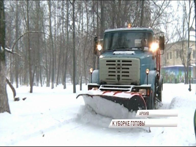 Расчищать дороги от снега в этом году будут в круглосуточном режиме