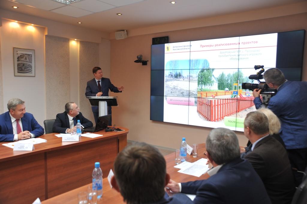 Реализация губернаторского проекта «Решаем вместе» будет продолжена в 2018 году
