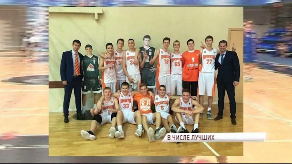 Юношеская команда «Буревестника» успешно выступает на предварительном этапе Детско-юношеской баскетбольной лиги