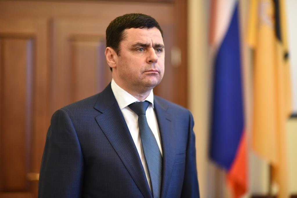 Губернатор Ярославской области Дмитрий Миронов отмечает 49-летие