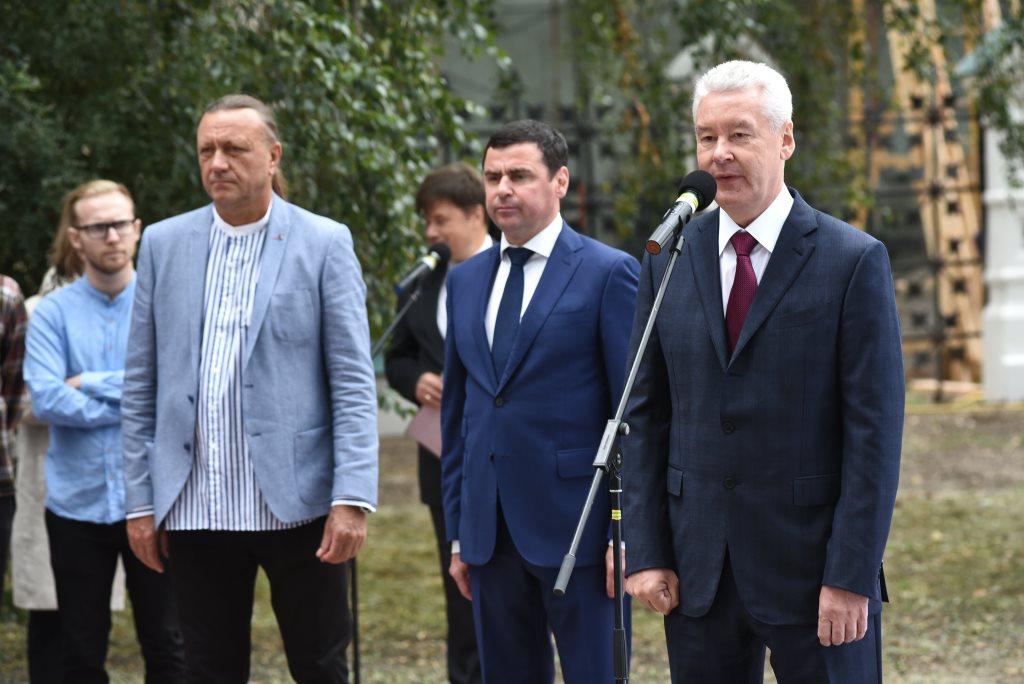 Мэр столицы поздравил Дмитрия Миронова с днем рождения