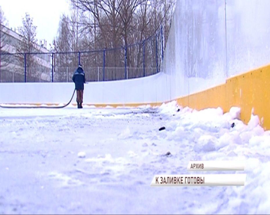 Этой зимой в Ярославле зальют более 20 ледовых площадок
