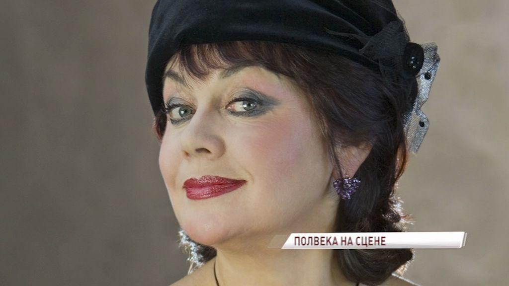 Народная артистка России Татьяна Иванова отмечает двойной праздник: 70-летний юбилей и полвека служению сцене