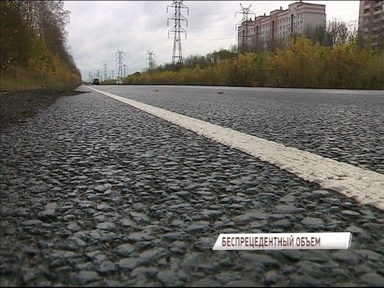 Более 50 километров дорог отремонтированы в этом году в Ярославле