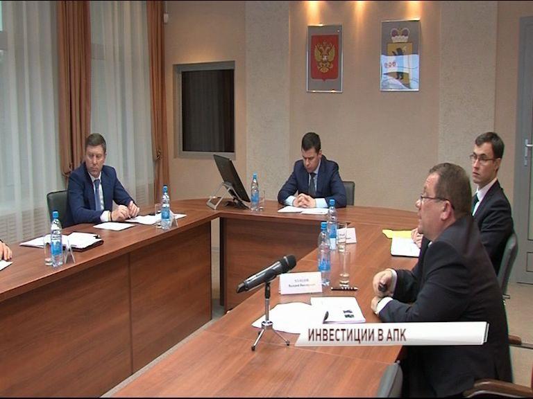 В сельское хозяйство области инвестируют больше 35 миллиардов рублей
