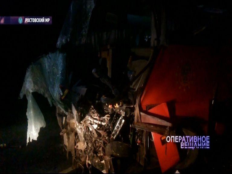 Хоккеисты «Локомотива-2008» угодили в серьезное дорожное происшествие
