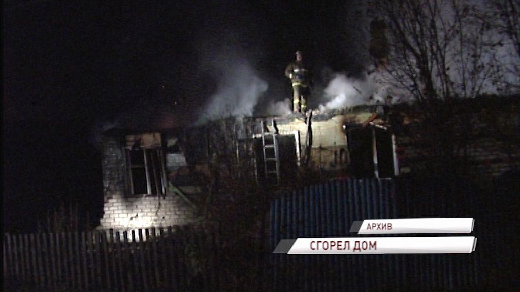 В Рыбинском районе пожарные тушили пожар в садоводческом товариществе