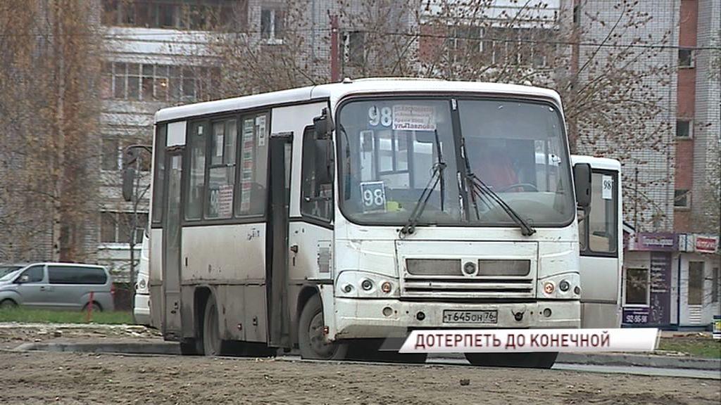 Жители окраин Ярославля жалуются: конечные остановки маршруток превращаются в общественные туалеты