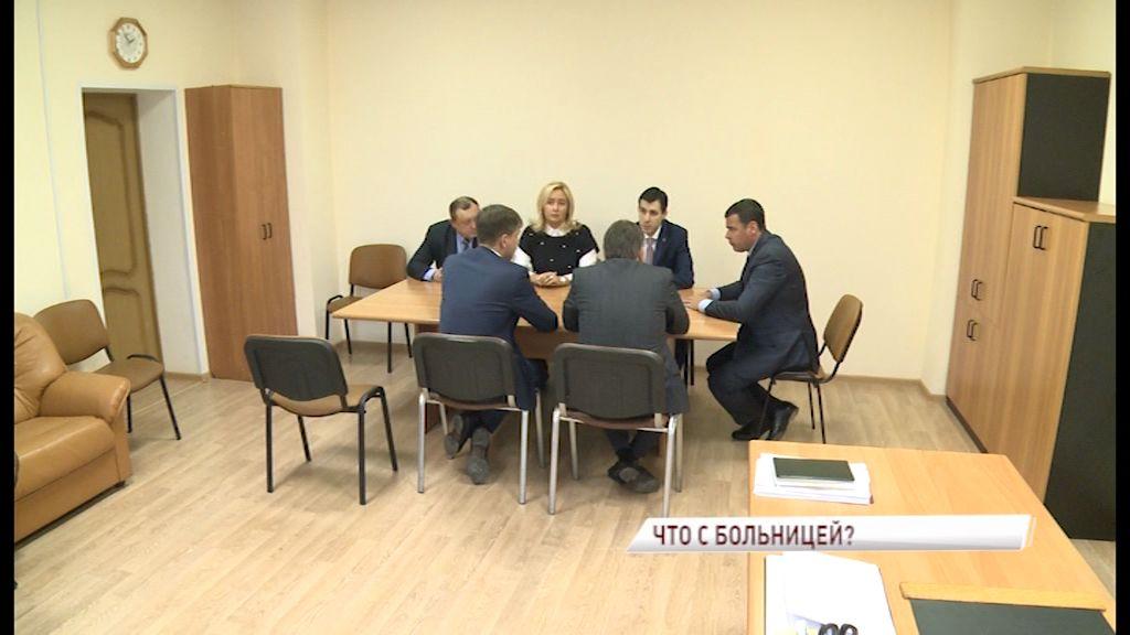 Глава региона Дмитрий Миронов осмотрел здание детской клинической больницы №1