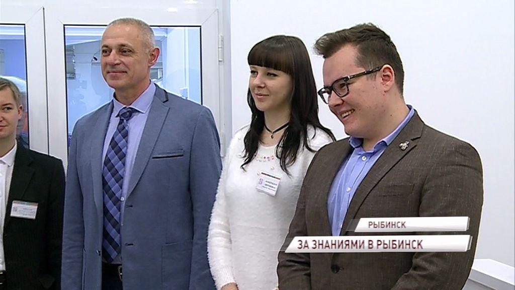 После разговора с президентом калининградский школьник посетил Рыбинск