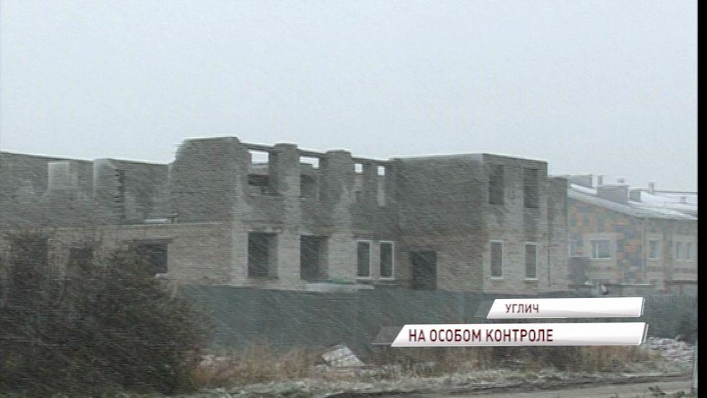 Строительство нового детского сада в Угличе ведется в соответствии с графиком