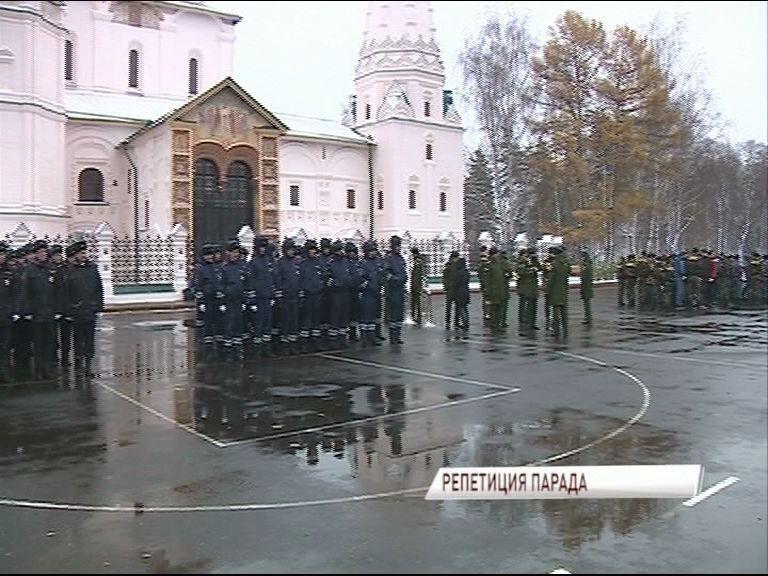 В Ярославле прошла генеральная репетиция парада, посвященного Дню полиции