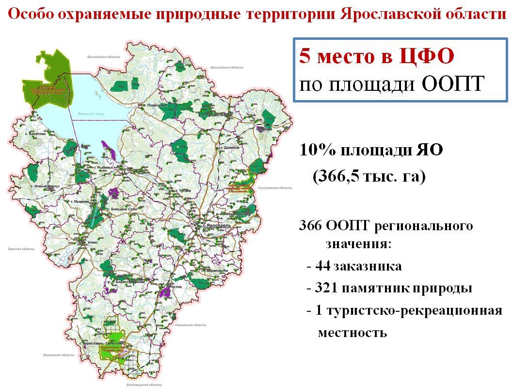 Около 300 памятников природы регионального значения включено в список особо охраняемых