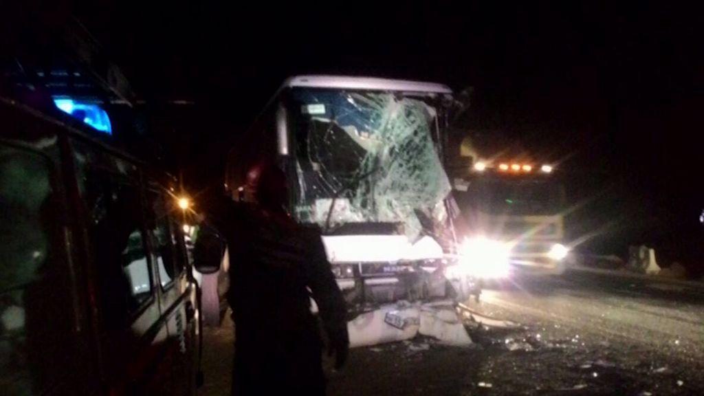 Страшная авария в Ростовском районе: экскурсионный автобус с детьми столкнулся с грузовиком