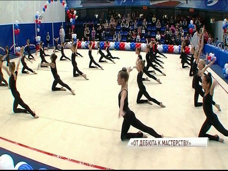 400 юных гимнасток выявляли лучших на турнире в Ярославле