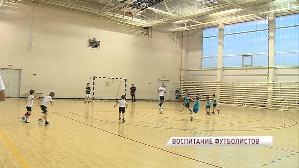 Проект «Футбол с детства»: шестилетние мальчуганы боролись за главный приз