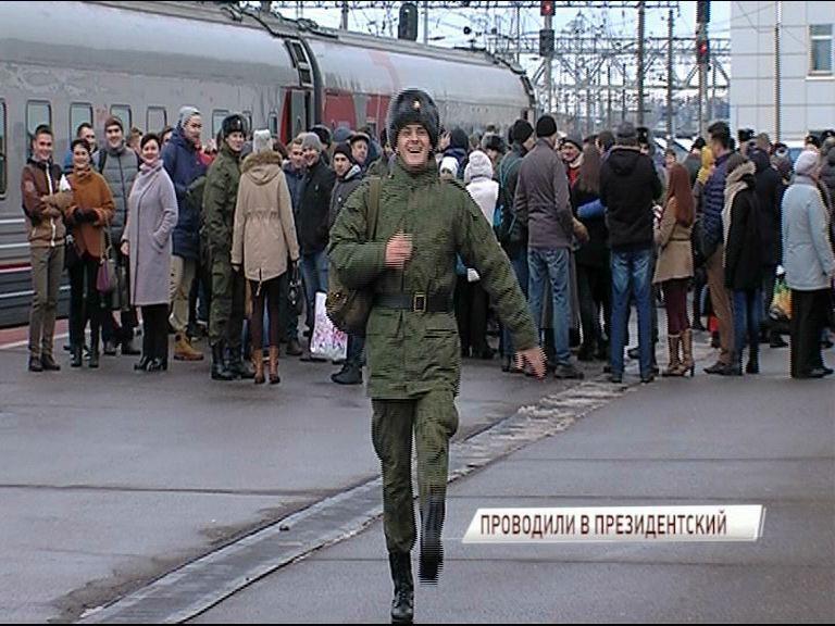 В День призывника: корреспондент «Первого Ярославского» отправился на службу