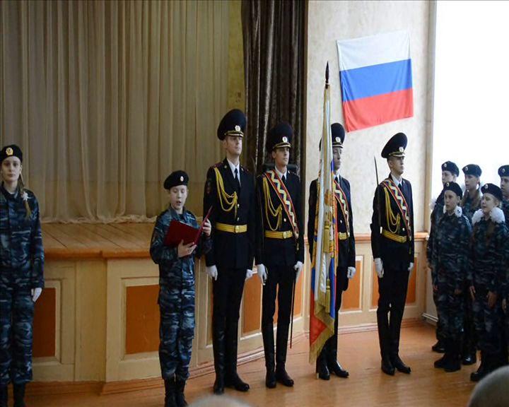 Школьники из Тутаевского района вступили в кадеты