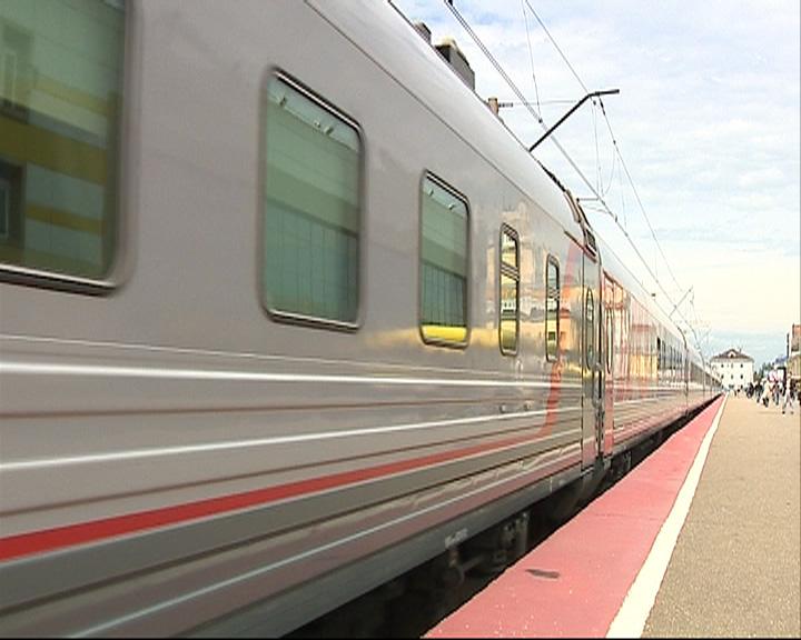 Маршрут железнодорожного экспресса «Чайка» продлили до Московского вокзала