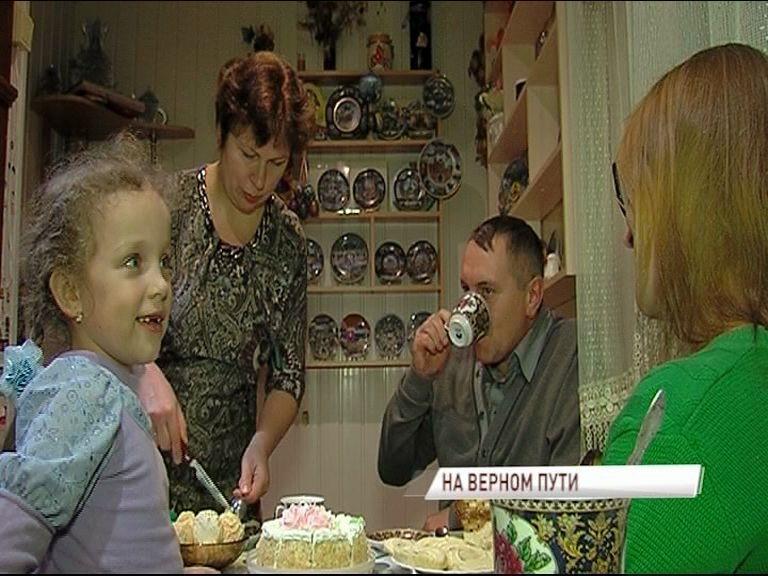Многодетная семья из Любима - одна из лучших в стране
