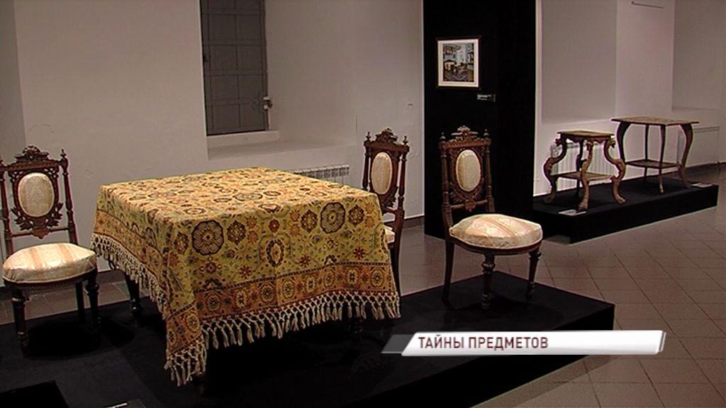 В Ярославском художественном музее можно узнать, какие тайны скрывают произведения мебельного искусства