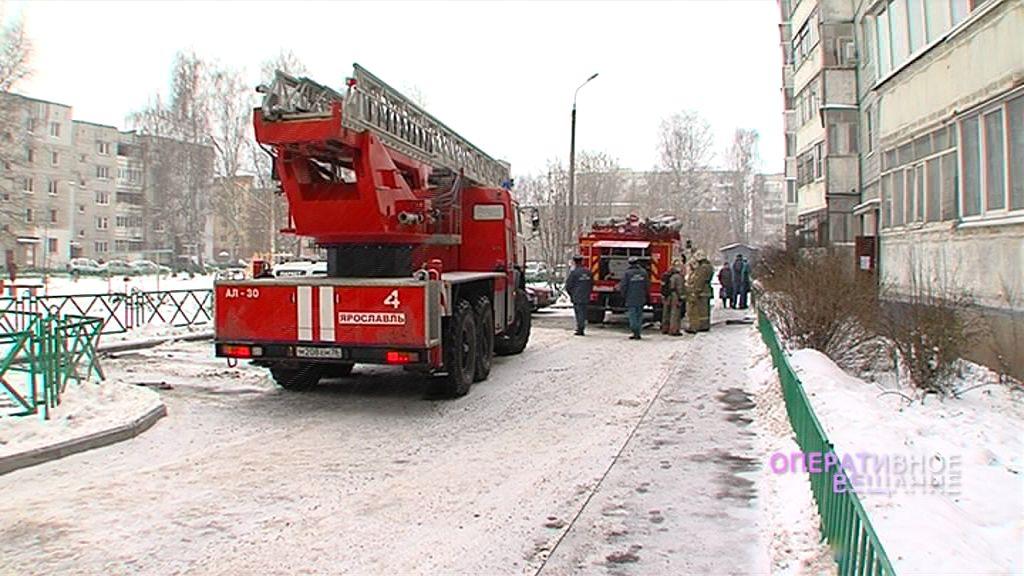 В огне в девятиэтажке на Кавказской погибла 80-летняя женщина