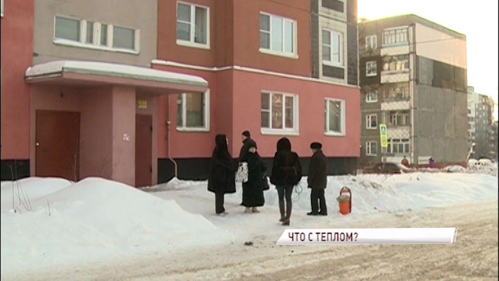 Жители Заволжского района ненадолго остались без тепла
