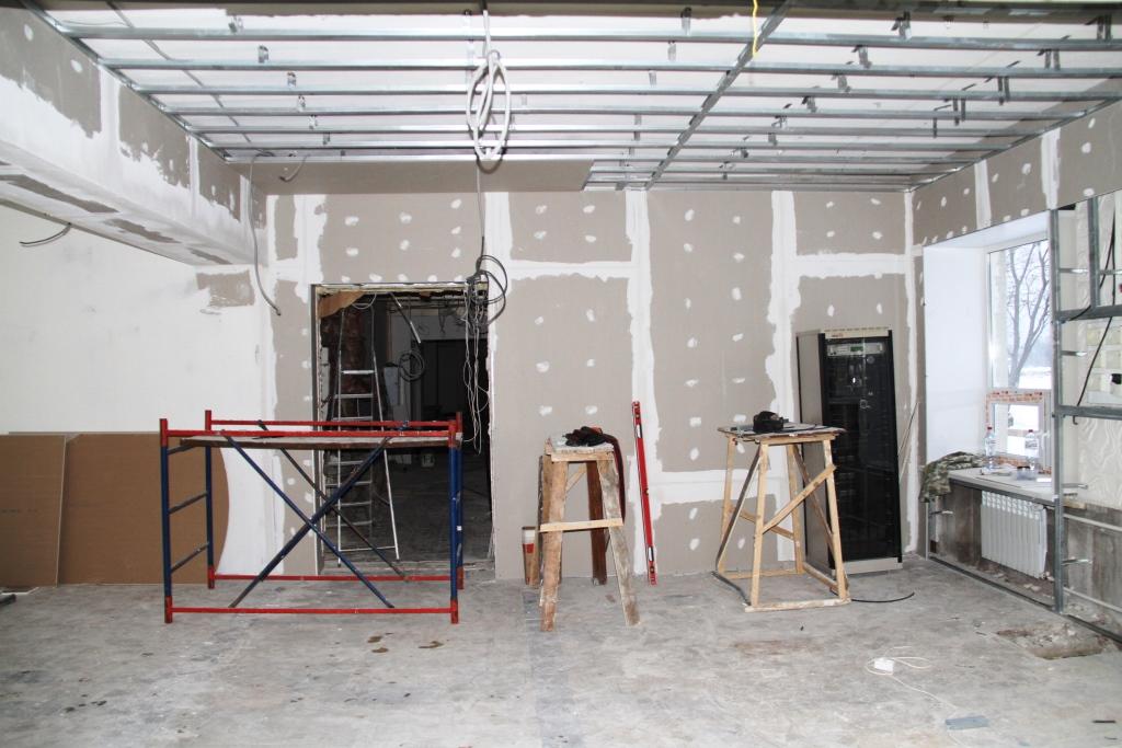 В Рыбинске завершается реконструкция ДК «Вымпел»
